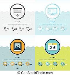 Office Concept Design Template set