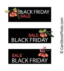 Water Apple on Black Friday Sale Ba - Illustration of Water...