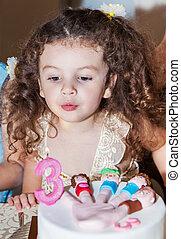 Baby girl celebrates birthday