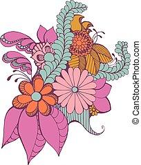 Zentangle Paisley Design