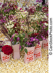 Popcorn Flower arrangement - A beautiful Popcorn Flower...