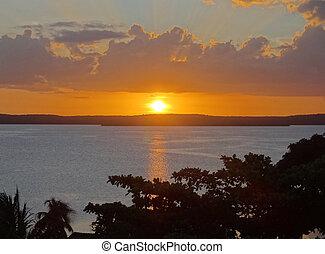Sundown in Cuba