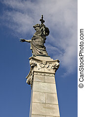 Monument of Freedom in Ruse, Bulgaria - Monument of Freedom...