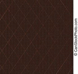 Nylon Stocking Fishnet Grid - The stitch of a nylon fishnet...