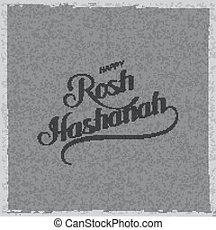 Rosh Hashanah Jewish New Year Holiday Vector Illustration...