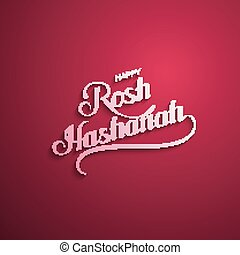 Rosh Hashanah. Jewish New Year. Holiday Vector Illustration...