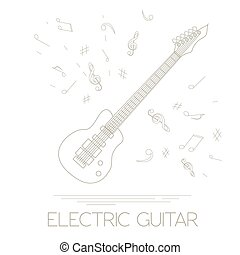 Musical instrument Electric guitar - Musical instruments...