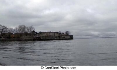 fort Totleben camera motion - Fort Totleben in the Baltic...