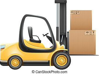 Lift Truck With Box