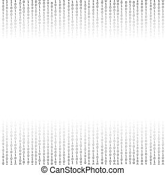 Binary Code Background Concept Binary Code Numbers Algorithm...