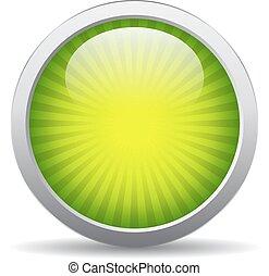 Green striped icon