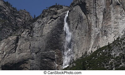 Upper Yosemite Falls Tight Shot - Upper Yosemite Falls...
