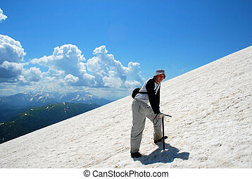 Tourist - This is beautiful mountain landscape northern...