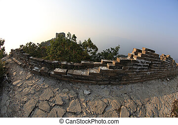 landscape at great wall of china