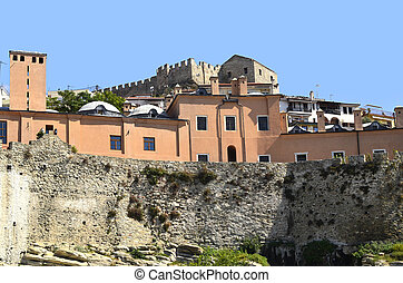 Greece, Kavala, Imaret and Fortress