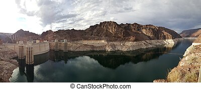 Hydroelectric Generators on the border of nevada and arizona...