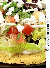 mexican tostadas tacos - Delicious mexican tacos perfect...