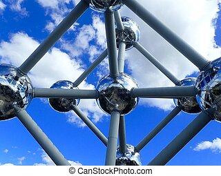 Atomium sculpture in Brussels, Belgium