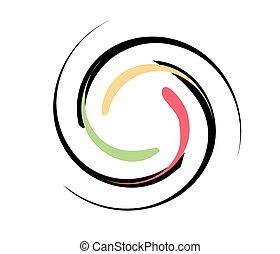 Vortex background color - Vortex background vectorSwirl...