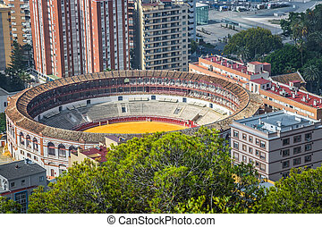 Spain, Malaga, place, de, Toros,