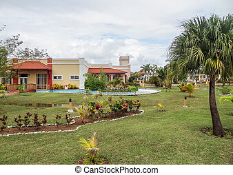holiday resort in Cuba - a holiday resort with big park in...
