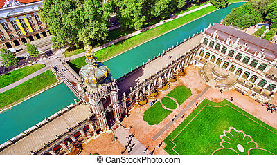 Zwinger Palace Old Masters - Zwinger Palace Der Dresdner...