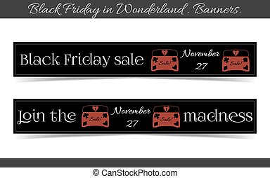 Banners Black Friday Sale in Wonderland - Jewelry Box.
