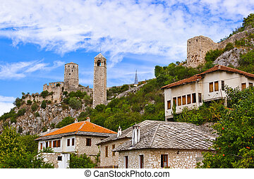 Pocitelj - Bosnia and Herzegovina - architecture travel...
