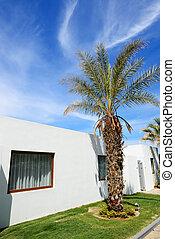 Villa at modern luxury hotel, Crete, Greece