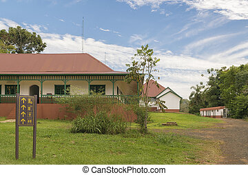 Antique Hotel at Iguazu Park in Argentinian Border - Antique...