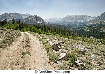 Dirt Road Above Rock Creek