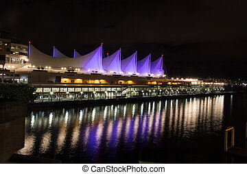 Canada Place Vancouver - Waterfront station Vancouver Canada...
