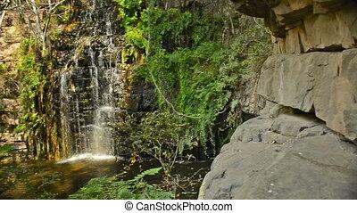 Africa Jungle Waterfall Botswana - The 5th of 5 waterfalls...
