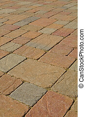 Odd Shaped Multi Color Bricks Stones