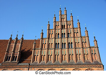 Old Town Hall Altes Rathaus in Hannover, Germany