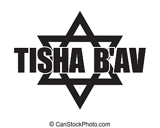Tisha B'av - Black On White Tisha B'av