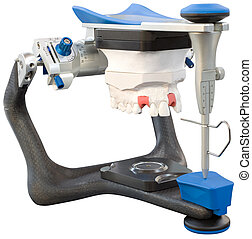 Dental Articulator Cutout - Dental Micrometer Articulator...