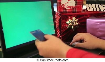 Christmas shopping online - Online Christmas shopping with...