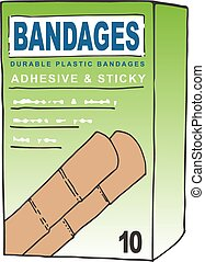 Waterproof Adhesive Bandages for when you get a Cut or...
