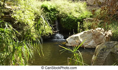 Botswana Waterfall - The 2nd of 5 waterfalls in the Moremi...