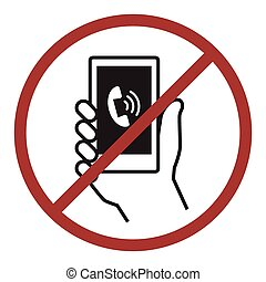 No phone icon - No phone icon for public information