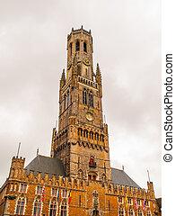 Belfry Tower of Bruges - The Belfry Tower of Bruges, or...