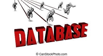 Better Database with a Business Team Racing Concept