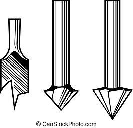 Drill bits - Set of Drill bits