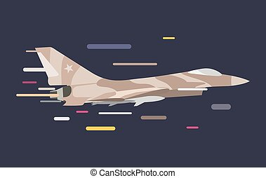 War military plane illustration - War military plane vector...