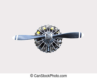 Aircraft propeller and engine