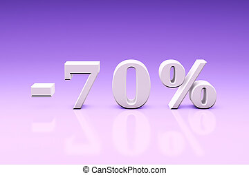 -70% Significant discounts for the goods and services....