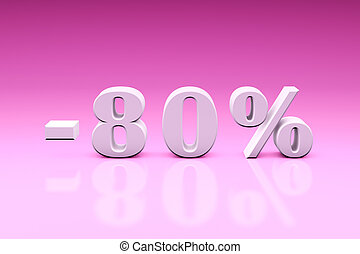 -80% Significant discounts for the goods and services....