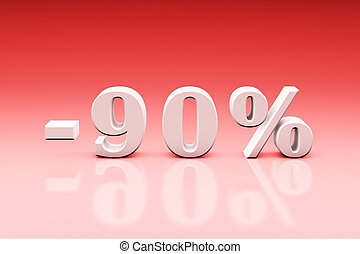 -90% Significant discounts for the goods and services....