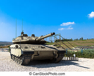 Israel made tank Merkava Mk IV - Israel made main battle...